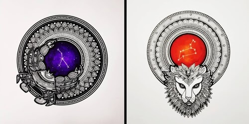 00-Mandala-Zodiac-Drawings-Madhusuja-www-designstack-co