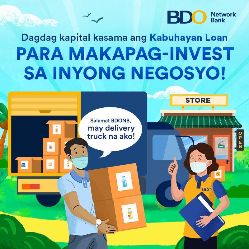 Kabuhayan Loan ng BDO Network Bank, katulong sa pag-asenso ng MSMEs, OF's at ng pamilya.