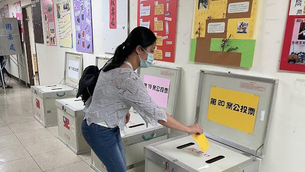 新住民公投選舉初體驗 彰化縣跨域合作辦模擬投票