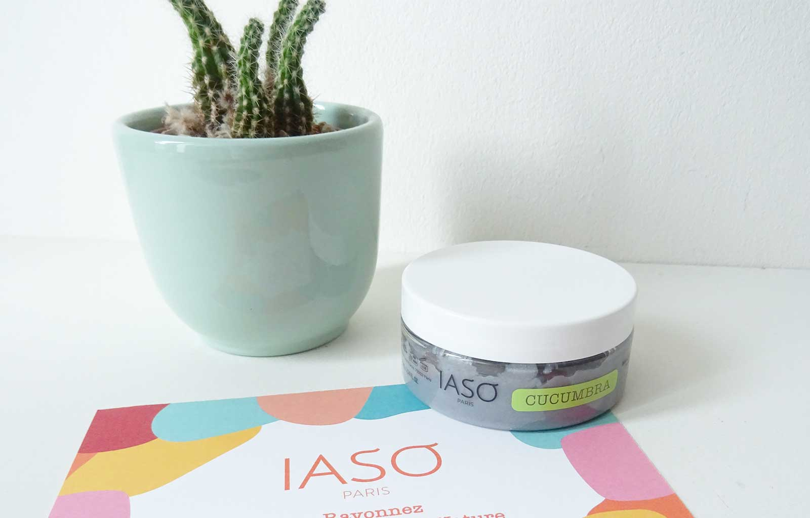 """Easy Detox"" IASO Paris masque purifiant"