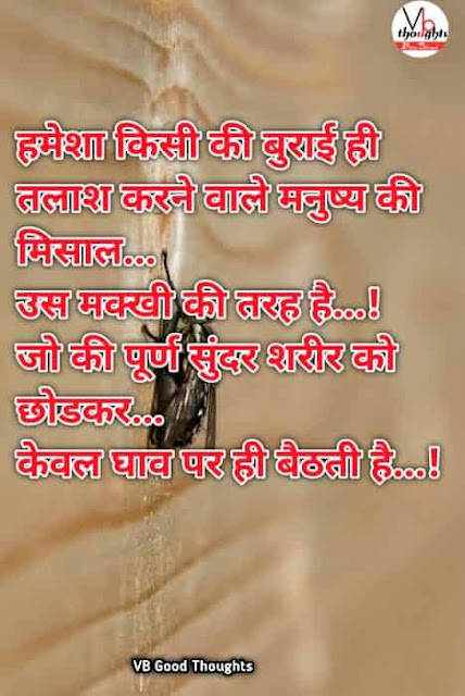 [ Best ] Hindi Suvichar - Good Thoughts In Hindi -  सुविचार - Suvichar With Images - hindi suvichar with images - suvichar photo - achhai - burai - makhi, insan