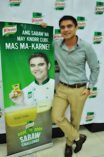Marvin Agustin Goes Door-to-Door With Knorr