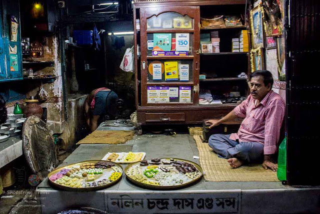 Nalin Chandra Das and Sons Heritage sweet shop in Kolkata