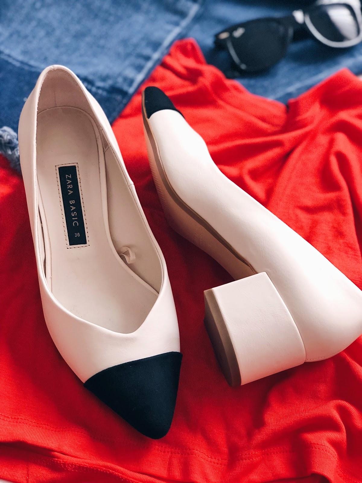 shoes chanel zara dupe spring summer fashion blogger fblogger