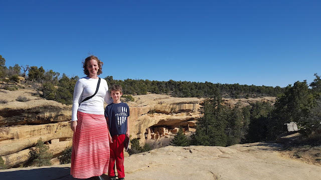 Cliff Dwellings in Mesa Verde
