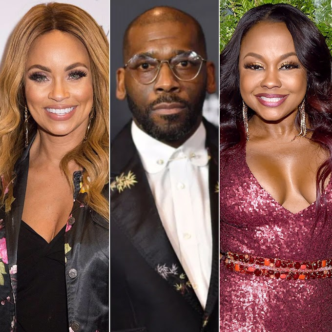 Gizelle Bryant Confirms Her Ex-Husband Jamal Bryant Was Phaedra Parks' Mr. Chocolate!
