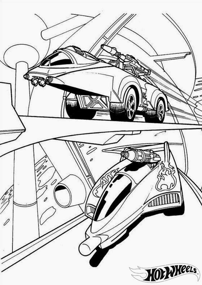 hotwheels coloring pages - photo#30