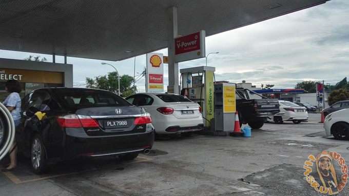 Harga Petrol Naik 20 Sen Sempena 2017