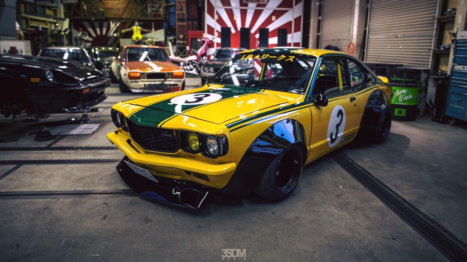 The Founder Liberty Walk Owns A Rather Amazing Mazda RX 3