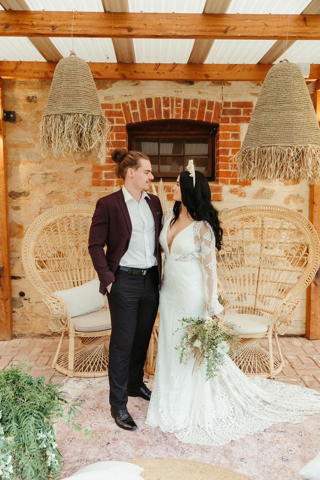 STYLED SHOOT: BYRON BAY MEETS ADELAIDE HILLS   ELEGANT BOHEMIAN WEDDING STYLING EDITORIAL SA