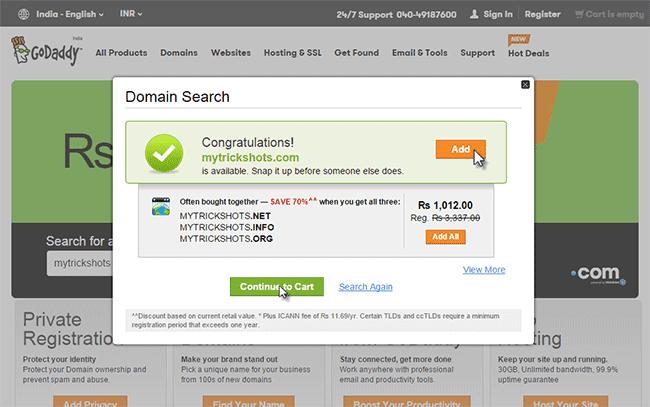 buy-domain-at-99-Godaddy