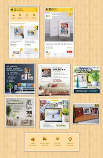Aneka produk di ID Photobook