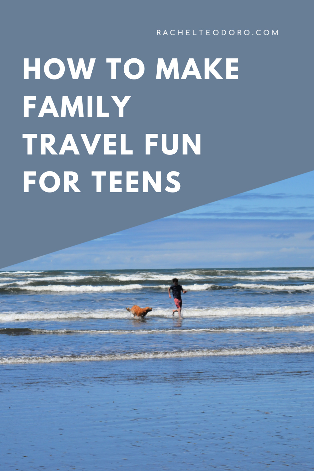 family vacation with teenagers