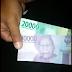 Warga Pengampon Dapati Money Politik Dari Pendukung Paslon No 01