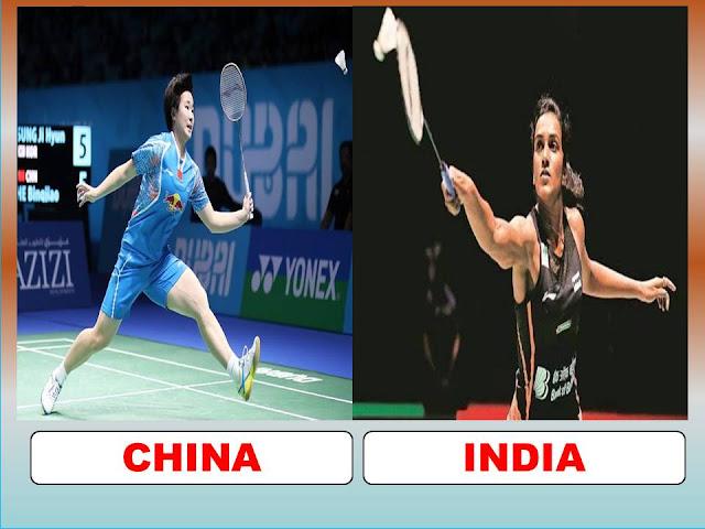 Link Streaming Olimpiade PERUNGGU Bulu Tangkis Tunggal Putri, B.J. He (CHN) Vs V. Sindhu Pusarla (IND)