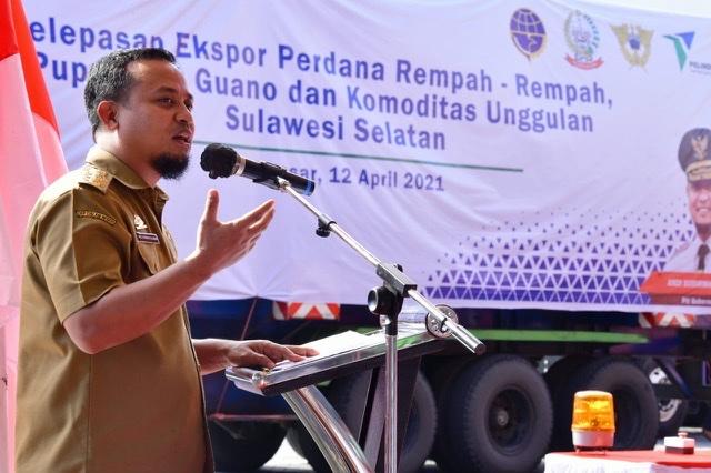Andi Sudirman Lepas Ekspor Komoditas Unggulan Sulawesi Selatan Senilai Rp 49,9 Miliar