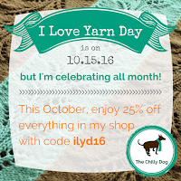 I love yarn day sale! #iloveyarnday #stitchitforward