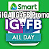 List Of Smart Internet Promos GIGA IG+FB With Free 1GB Everyday