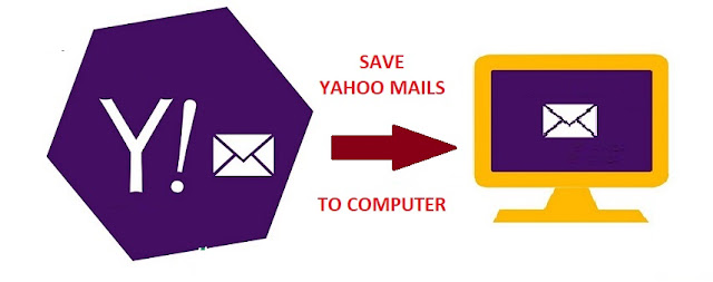 save Yahoo emails to computer