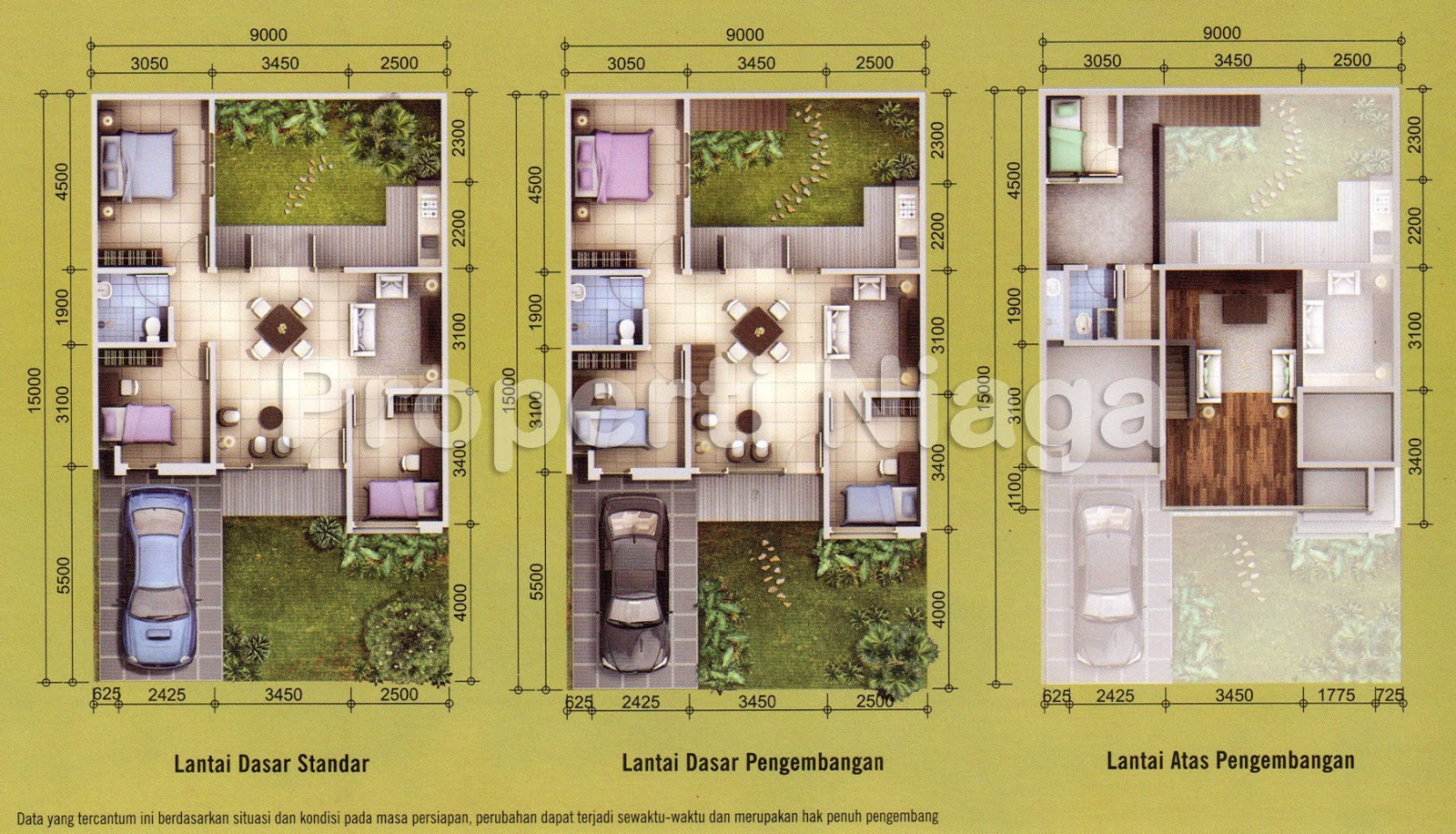 Rumah Dijual Di Emerald Townhouse Bintaro - Ceria Bulat m