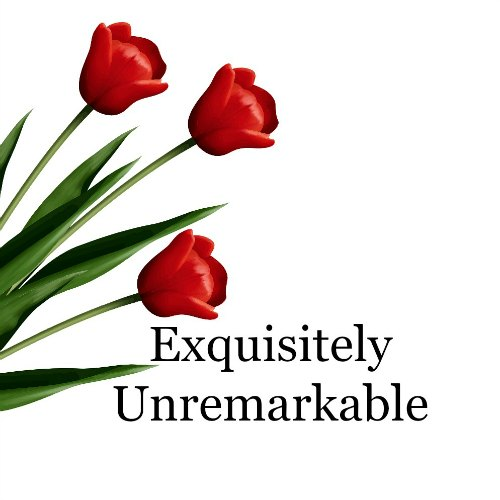 Exquisitely Unremarkable Red Tulips Logo
