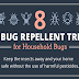 8 DIY Bug Repellent Tricks for Household Bugs #infographic