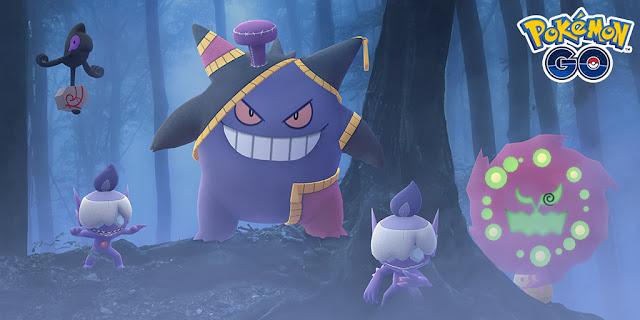 Pokémon GO: Tudo que você precisa saber sobre o Evento de Halloween 2020!