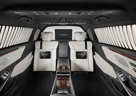 Interior Mercedes Maybach S650 Pullman