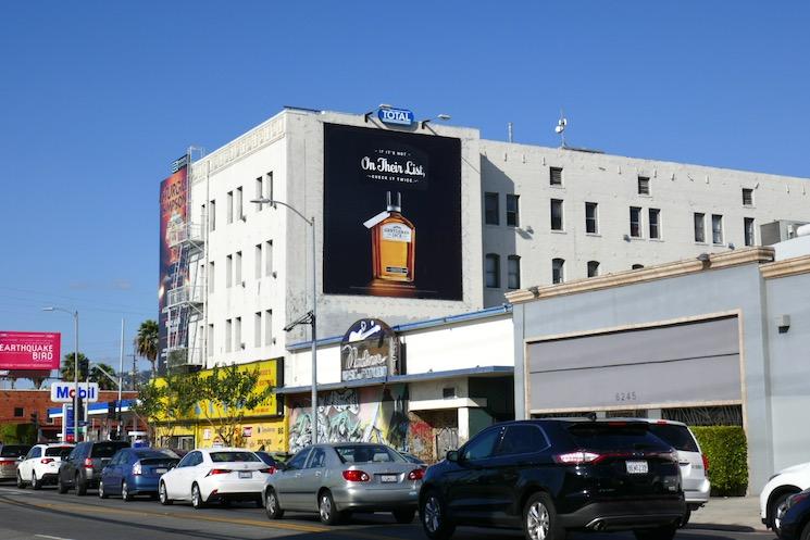 Jack Daniels Gentleman Jack Holidays 2019 billboard