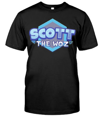 scott the woz merch Store T Shirt Hoodie sweatshirt. GET IT HERE