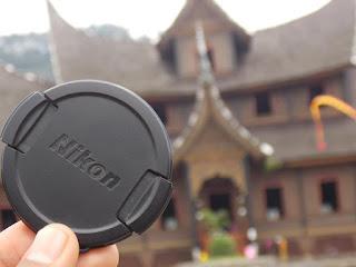 Nikon Lens Cap & Istano Pagaruyuang