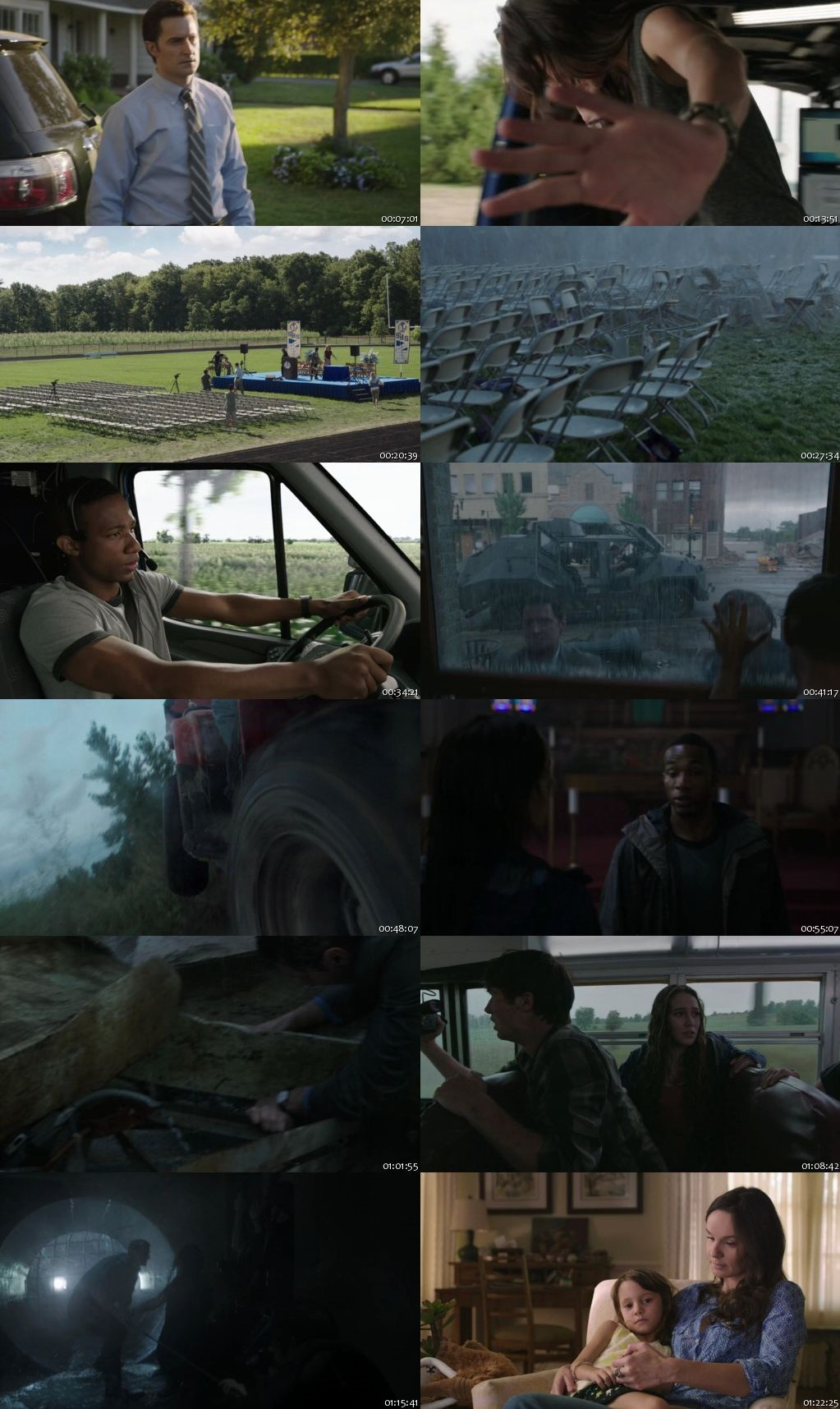 Into The Storm 2014 BRRip 480p Dual Audio 300Mb