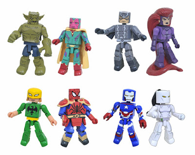 Walgreens Exclusive Marvel Animated Universe Minimates Series 6 by Diamond Select Toys