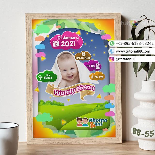 Biodata Bayi Costume Unik Kode BB55 | Bukit Hijau