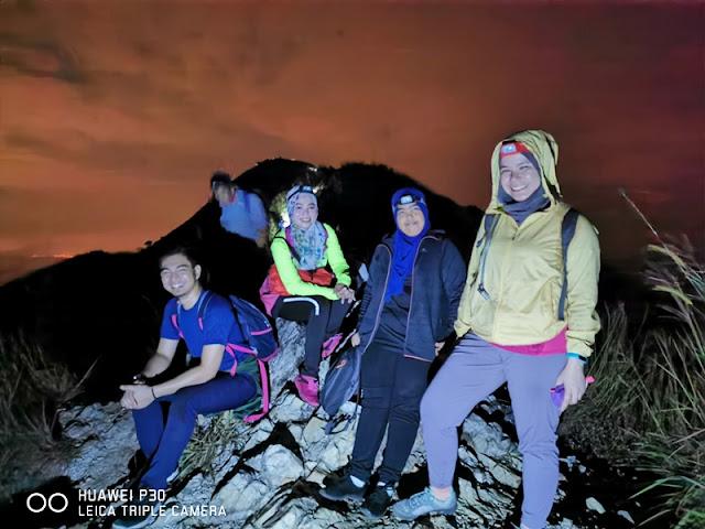 Puncak keempat Bukit Berekeh di Sungai Siput Perak