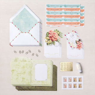 Have you seen the new Precious Parcel Card Kit from Stampin' Up!?  It's part of the new Kits Collection by Stampin' Up! and is super cute and easy.