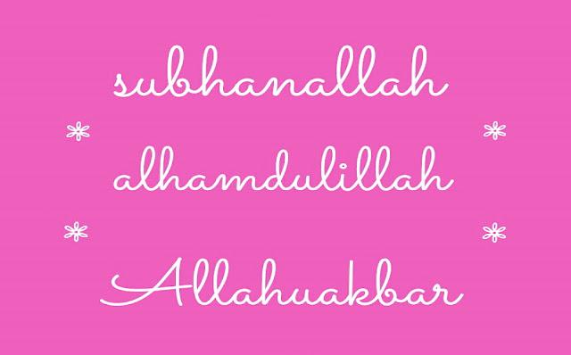 Luar Biasa! Inilah Kedahsyatan Dzikir 'Subhanallah Alhamdulillah Allahu Akbar'