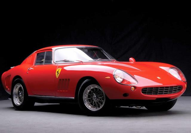Ferrari 275 GTB 1960s Italian classic sports car