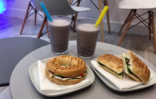 Five Degrees cafe Edinburgh review