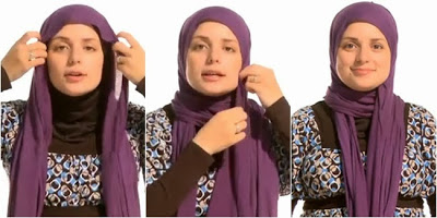 Tutorial Hijab Gaya 3