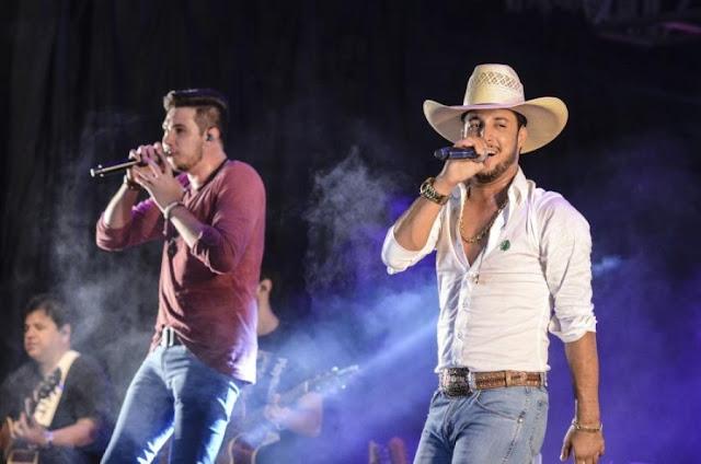Bruno e Barreto cancela show