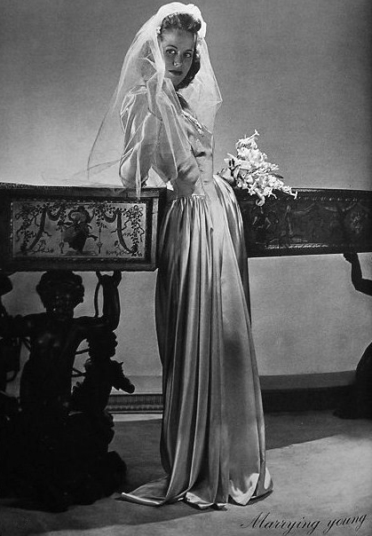 Vintage Pictures of Bridals From Between the 1910s and 1940s  vintage everyday