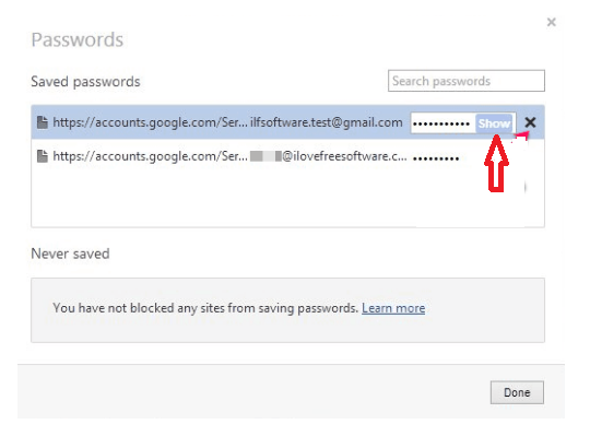 View Saved Passwords - Where Did the Passwords Save in Chrome