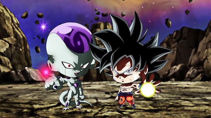 Papel De Parede Chibi Frieza Goku