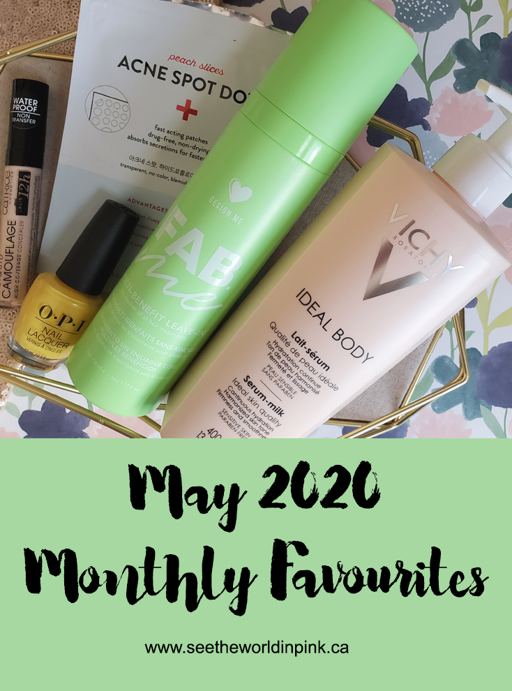 May 2020 - Monthly Favourites!