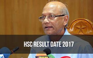 HSC Result Date 2017