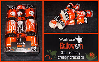 Celebration; Cracker Toys; Eye Patch; Gift; Halloween Party Crackers; Hat; Insects; Joke; Joke Nail; Motto; Novelty Cracker Toys; Novelty Party Crackers; Plastic Novelties; Small Scale World; smallscaleworld.blogspot.com; Waitrose Halloween Crackers;