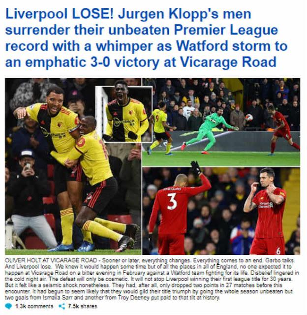 """Liverpool vỡ mộng bất bại: Báo Anh mỉa mai, chê Salah - Mane """"vô hại"""" 4"""