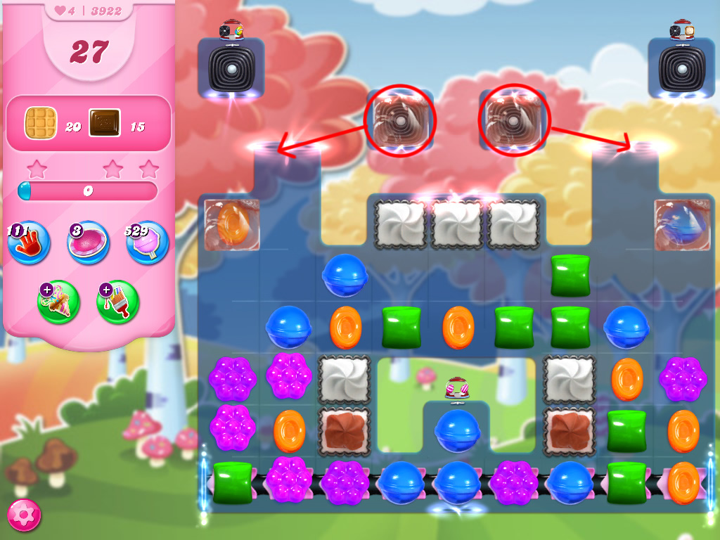 Candy Crush Saga level 3922
