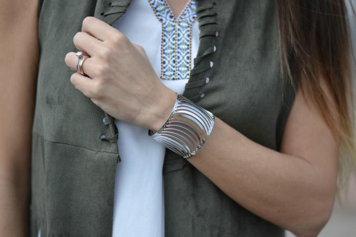 bracciale rigido argento